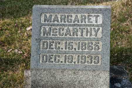 MCCARTHY, MARGARET - Richland County, Ohio   MARGARET MCCARTHY - Ohio Gravestone Photos
