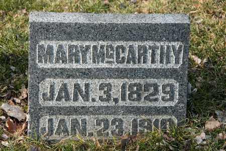 MCCARTHY, MARY - Richland County, Ohio | MARY MCCARTHY - Ohio Gravestone Photos