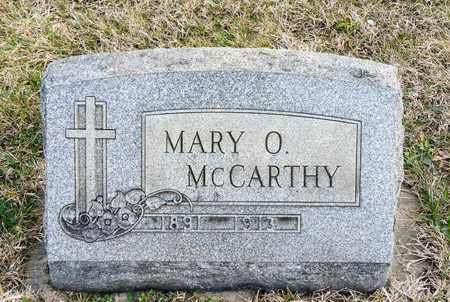 MCCARTHY, MARY O - Richland County, Ohio | MARY O MCCARTHY - Ohio Gravestone Photos