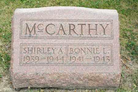 MCCARTHY, SHIRLEY A - Richland County, Ohio   SHIRLEY A MCCARTHY - Ohio Gravestone Photos