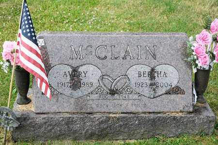 MCCLAIN, AVERY - Richland County, Ohio | AVERY MCCLAIN - Ohio Gravestone Photos