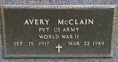 MCCLAIN, AVERY - Richland County, Ohio | AVERY MCCLAIN - Ohio Gravestone Photos