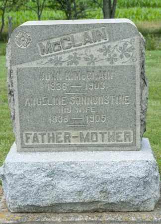 MCCLAIN, ANGELINE - Richland County, Ohio | ANGELINE MCCLAIN - Ohio Gravestone Photos