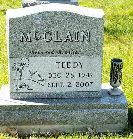 MCCLAIN, TEDDY - Richland County, Ohio | TEDDY MCCLAIN - Ohio Gravestone Photos