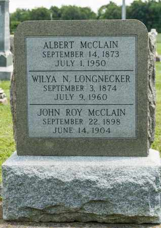 MCCLAIN, ALBERT - Richland County, Ohio | ALBERT MCCLAIN - Ohio Gravestone Photos