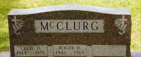 MCCLURG, ROGER D - Richland County, Ohio | ROGER D MCCLURG - Ohio Gravestone Photos