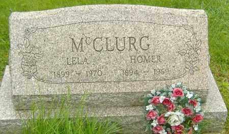 MCCLURG, HOMER LEE - Richland County, Ohio   HOMER LEE MCCLURG - Ohio Gravestone Photos