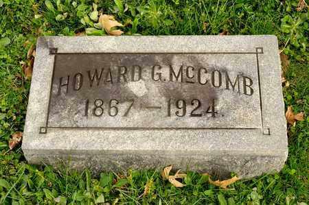 MCCOMB, HOWARD G - Richland County, Ohio   HOWARD G MCCOMB - Ohio Gravestone Photos