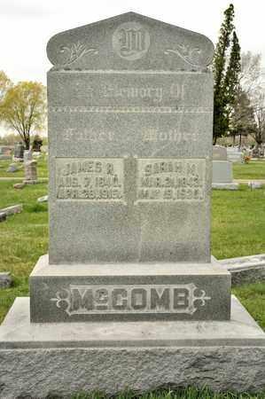 MCCOMB, SARAH M - Richland County, Ohio | SARAH M MCCOMB - Ohio Gravestone Photos