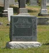 MCCONKLE, SARAH - Richland County, Ohio   SARAH MCCONKLE - Ohio Gravestone Photos