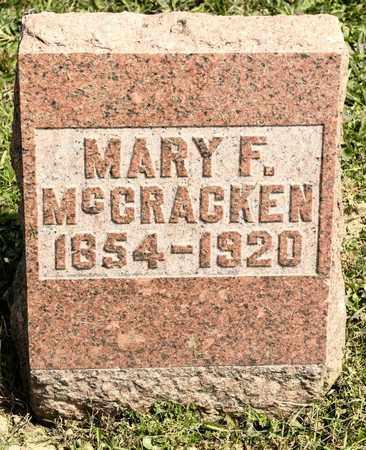 MCCRACKEN, MARY F - Richland County, Ohio | MARY F MCCRACKEN - Ohio Gravestone Photos