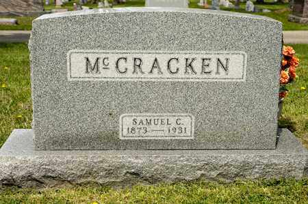 MCCRACKEN, SAMUEL C - Richland County, Ohio | SAMUEL C MCCRACKEN - Ohio Gravestone Photos