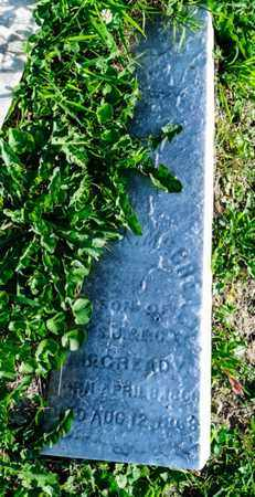 MCCREADY, ERNEST A - Richland County, Ohio   ERNEST A MCCREADY - Ohio Gravestone Photos