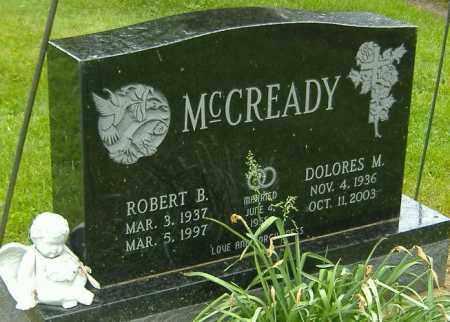 MCCREADY, DELORES M. - Richland County, Ohio   DELORES M. MCCREADY - Ohio Gravestone Photos
