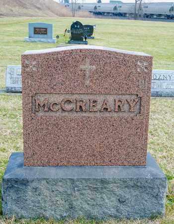 MCCREARY, THOMAS R - Richland County, Ohio | THOMAS R MCCREARY - Ohio Gravestone Photos