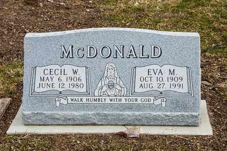 MCDONALD, EVA M - Richland County, Ohio   EVA M MCDONALD - Ohio Gravestone Photos