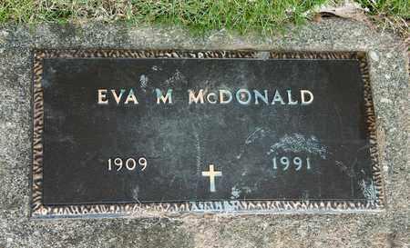 MCDONALD, EVA M - Richland County, Ohio | EVA M MCDONALD - Ohio Gravestone Photos