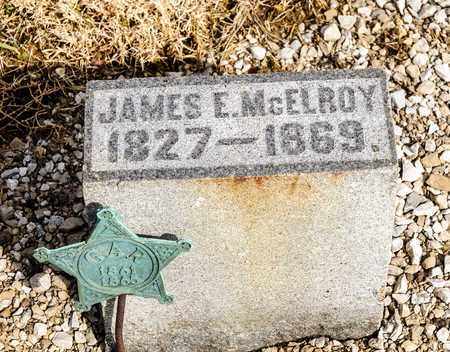 MCELROY, JAMES E - Richland County, Ohio | JAMES E MCELROY - Ohio Gravestone Photos