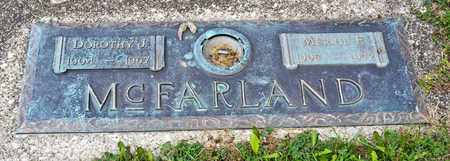 MCFARLAND, DOROTHY J - Richland County, Ohio | DOROTHY J MCFARLAND - Ohio Gravestone Photos
