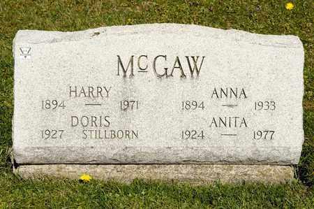 MCGAW, ANITA - Richland County, Ohio | ANITA MCGAW - Ohio Gravestone Photos