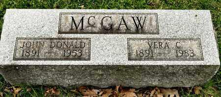 MCGAW, VERA C - Richland County, Ohio | VERA C MCGAW - Ohio Gravestone Photos