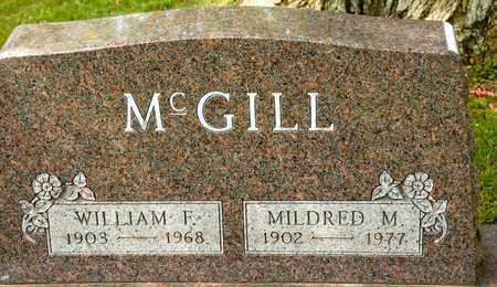 MCGILL, MILDRED M - Richland County, Ohio   MILDRED M MCGILL - Ohio Gravestone Photos