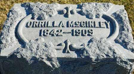 MCGINLEY, ORRILLA - Richland County, Ohio   ORRILLA MCGINLEY - Ohio Gravestone Photos