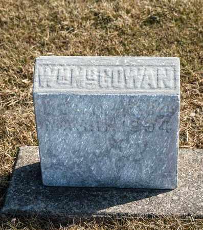 MCGOWAN, WILLIAM - Richland County, Ohio | WILLIAM MCGOWAN - Ohio Gravestone Photos