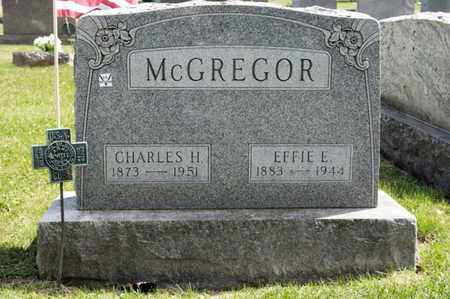 MCGREGOR, EFFIE E - Richland County, Ohio | EFFIE E MCGREGOR - Ohio Gravestone Photos