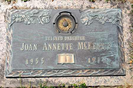 MCKENZIE, JOAN ANNETTE - Richland County, Ohio | JOAN ANNETTE MCKENZIE - Ohio Gravestone Photos