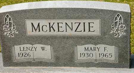 MCKENZIE, MARY F - Richland County, Ohio   MARY F MCKENZIE - Ohio Gravestone Photos