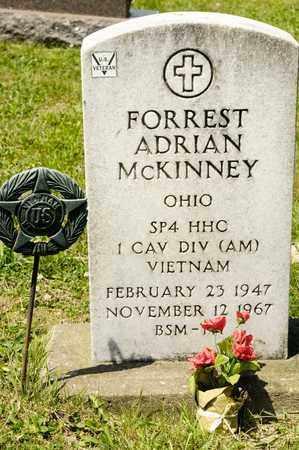 MCKINNEY, FORREST ADRIAN - Richland County, Ohio | FORREST ADRIAN MCKINNEY - Ohio Gravestone Photos