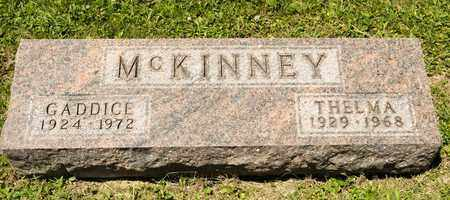 MCKINNEY, GADDICE - Richland County, Ohio | GADDICE MCKINNEY - Ohio Gravestone Photos