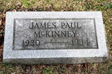 MCKINNEY, JAMES PAUL - Richland County, Ohio | JAMES PAUL MCKINNEY - Ohio Gravestone Photos