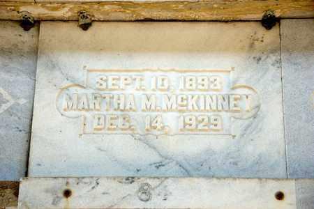 MCKINNEY, MARTHA M - Richland County, Ohio | MARTHA M MCKINNEY - Ohio Gravestone Photos