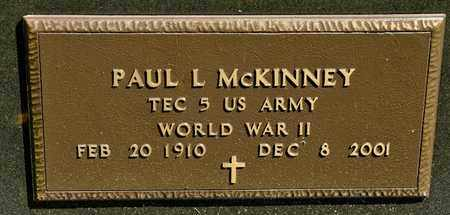 MCKINNEY, PAUL L - Richland County, Ohio | PAUL L MCKINNEY - Ohio Gravestone Photos