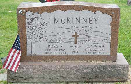MCKINNEY, ROSS R - Richland County, Ohio | ROSS R MCKINNEY - Ohio Gravestone Photos