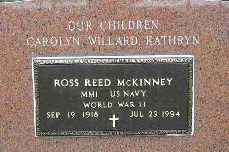 MCKINNEY, ROSS REED - Richland County, Ohio | ROSS REED MCKINNEY - Ohio Gravestone Photos