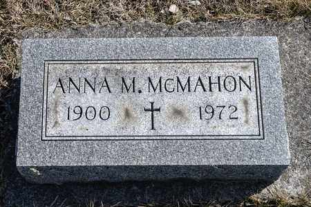 MCMAHON, ANNA M - Richland County, Ohio | ANNA M MCMAHON - Ohio Gravestone Photos