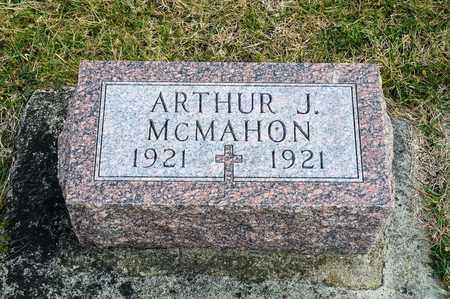 MCMAHON, ARTHUR J - Richland County, Ohio | ARTHUR J MCMAHON - Ohio Gravestone Photos