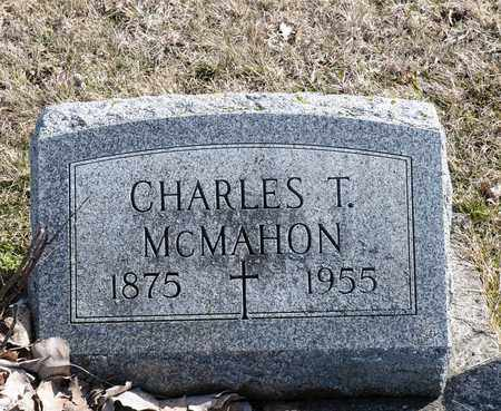 MCMAHON, CHARLES T - Richland County, Ohio   CHARLES T MCMAHON - Ohio Gravestone Photos