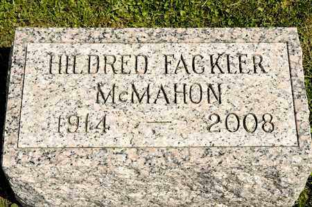 MCMAHON, HILDRED - Richland County, Ohio | HILDRED MCMAHON - Ohio Gravestone Photos