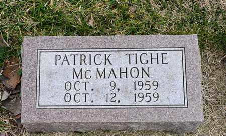 MCMAHON, PATRICK TIGHE - Richland County, Ohio | PATRICK TIGHE MCMAHON - Ohio Gravestone Photos