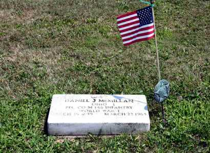 MCMILLAN, DANIEL J - Richland County, Ohio   DANIEL J MCMILLAN - Ohio Gravestone Photos