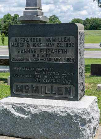 MCMILLEN, ALEXANDER - Richland County, Ohio   ALEXANDER MCMILLEN - Ohio Gravestone Photos