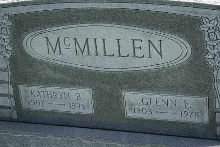MCMILLEN, KATHRYN B - Richland County, Ohio   KATHRYN B MCMILLEN - Ohio Gravestone Photos