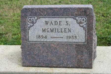 MCMILLEN, WADE S - Richland County, Ohio   WADE S MCMILLEN - Ohio Gravestone Photos