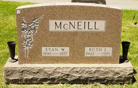 MCNEILL, EVAN W - Richland County, Ohio | EVAN W MCNEILL - Ohio Gravestone Photos