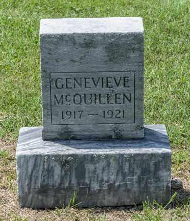 MCQUILLEN, GENEVIEVE - Richland County, Ohio | GENEVIEVE MCQUILLEN - Ohio Gravestone Photos