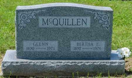 MCQUILLEN, BERTHA E - Richland County, Ohio | BERTHA E MCQUILLEN - Ohio Gravestone Photos
